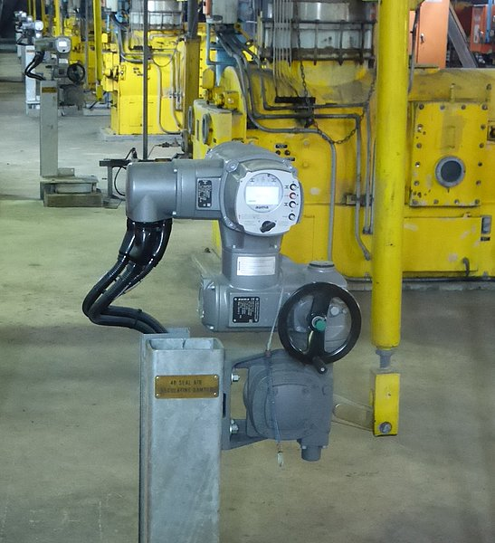 Turbo generator plant upgrades to AUMA electric actuators
